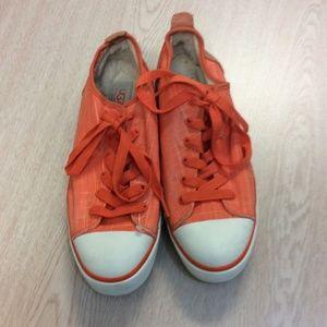 Orange UGG Sneakers